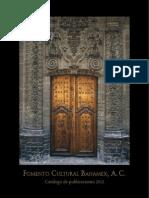 Catalogo de Publicaciones 2012 PUBLICO 1