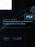 Convocatoria Ecologia Desde El Arte Digital