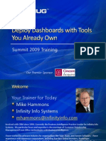 CRMUG Summit 2009 -Deploy Dashboards With Tools You Already Own