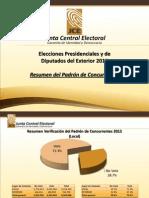 Padrón Concurrentes Elecciones 2012 (1)