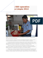 03/04/14 cronicaoax Continúa SSO operativo Cuaresma Limpia 2014