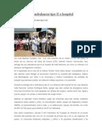 03/04/14 News Entrega GTV Ambulancia Tipo II a Hospital