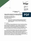 Verizon Wiretapping - Verizon Response to Complaint Letter 01 Letter