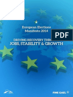 European Election Manifesto 2014