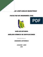 Guía de Estudio Análisis Sísmico de Edificaciones