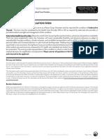 Peace Corps Disease Diagnosis Form Thyroid