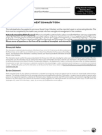 Peace Corps Eating Disorder Treatment Summary Form PC-262-8 (Initial approval 08/2012