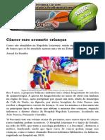 Câncer Raro Acomete Crianças