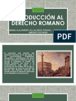 ANTECEDENTES ROMANOS 1