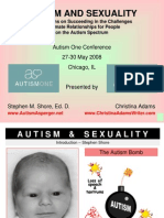 Relationships and Sexuality for People with Autism Reaching a Greater Understanding