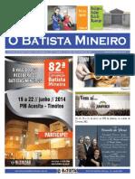 Jornal Batista Marco 2014