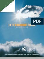 2003 General Conference Program Book