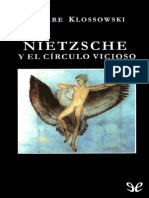 Nietzsche y el c�rculo vicioso de Pierre Klossowski r1.0