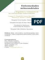 ENFERMEDAD MITOCONDRIAL PROTOCOLO