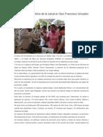 09/04/14 diariomarca Realizaron SSO feria de la salud en San Francisco Ixhuatán