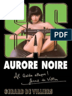 Villiers de, Gerard] Aurore Noire