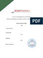 Informe Teclado Matricial.doc