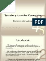 Tratados y Acuerdos Comerciales