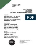 LOVE IS WAR - Spanish Official Translation