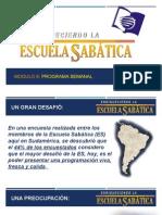 Seminario Escuela Sabatica Modulo 6 Programas