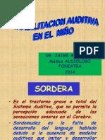Rehabilitacion Auditiva en El Niño