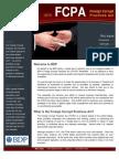 BDP Legal Newsletter _FCPA November 09