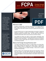 BDP Legal Newsletter _FCPA November 09