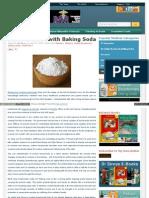Detox Sodium Bicarbonate Baking Soda