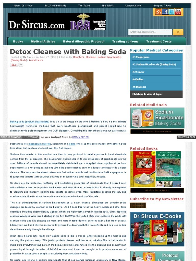 Sodium Bicarbonate Mark Sircus Pdf