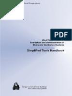 Annex 27 Handbook