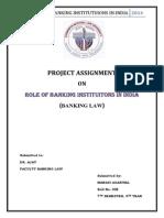 Manasi Banking Law
