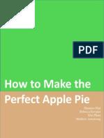 group manual - apple pie manual