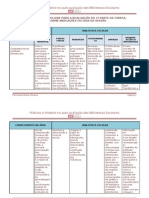 Tabela-matriz 1ª sessão
