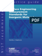 Surface Engineering Measurement Standards for Inorganic Materials