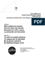 ALIVE - Spanish Official Translation