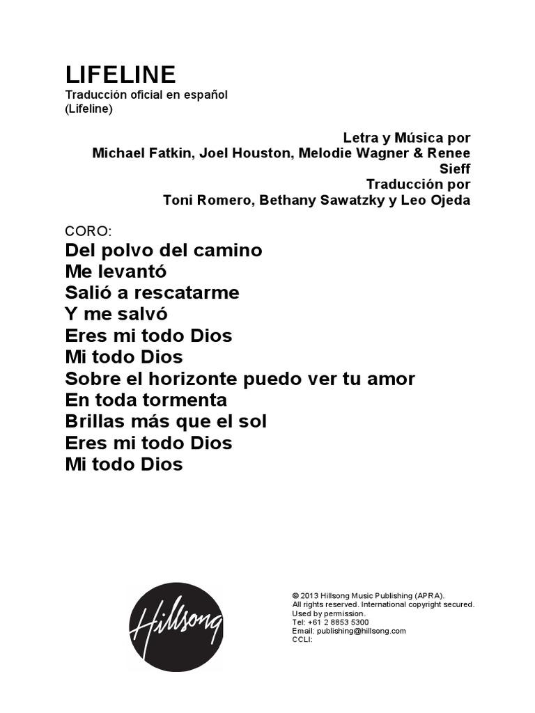 Lifeline Spanish Official Translation