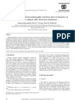 18.2001.EJP427 The time-course of electrocardiographic interbeat interval dynamics in alcoholic subjects after short-term abstinence. Authors