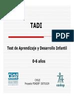 presentacion TADI