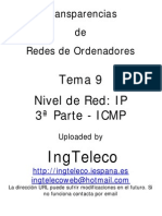 Tema 9-3 - ICMP