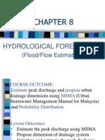 Chap 8 Hydrological Forecasting (MSMA) 1213-1