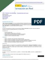 JClic. Creación de Actividades - Características Del Curso