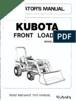 Kubota Front Loader La 211
