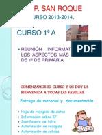 Reinión Inicio de Curso 2013-2014