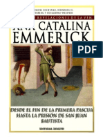 Visiones y Revelaciones de Ana Catalina Emmerich - Tomo 5