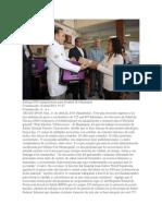 11/04/14 Quadratin Entrega SSO Equipamiento Para Hospital de Huajuapan