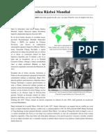 Al Doilea Razboi Mondial State Implicate 1939-1945