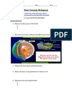 plate tectonic webquest