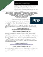 NeNew DVD release Newsletter January  2014 from www.worldonlinecinema.comwsletter January 2014