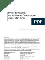 kansas social emotional and character development model standards