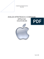 Analiza Strategica - Apple